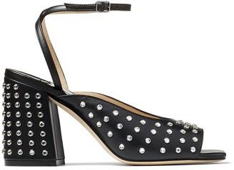 Jimmy Choo Jassidy rhinestone-embellished 85mm sandals