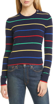 Polo Ralph Lauren Stripe Cashmere Sweater