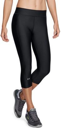 Under Armour Women's HeatGear Mid-Rise Capri Leggings