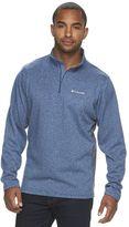 Columbia Men's Dunsire Point Classic-Fit Colorblock Fleece Quarter-Zip Pullover