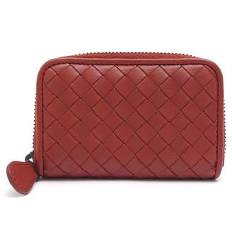 Bottega Veneta Orange Leather Purses, wallets & cases