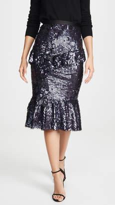 Needle & Thread Scarlett Sequin Midi Skirt