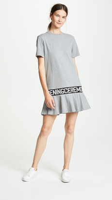 Opening Ceremony Elastic Logo T-Shirt Dress
