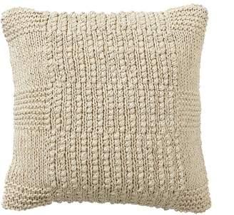 Pottery Barn Calla Handknit Jute Pillow Covers