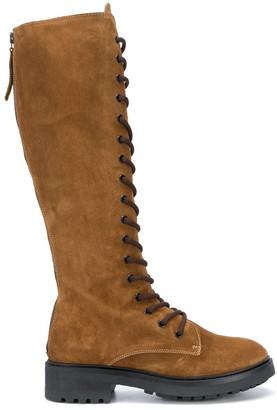 P.A.R.O.S.H. Suede Knee-Length Boots
