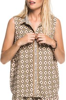 Scotch & Soda Tile Print Sleeveless Shirt