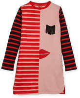 Stella McCartney Kora Striped Jersey Dress, Size 4-14