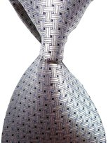 LUQUAN Men Crossed Jacquard Woven Ties For Suit Gifts Neckties