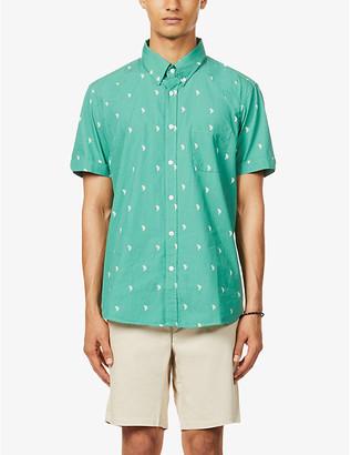 Far Afield Cactus-print cotton shirt