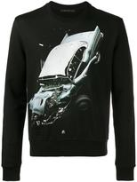 Christopher Kane car crash sweatshirt