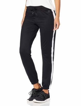 Aurique Amazon Brand Women's Straight Leg Jogger Sports Trousers