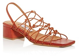Miista Women's Frida Strappy Slingback Block-Heel Sandals