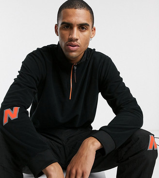 New Balance Utility Pack half zip jumper in black exclusive to ASOS