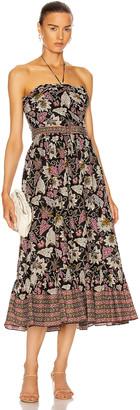 Alexis Aniessa Dress in Palm Batik | FWRD