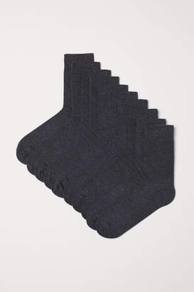 H&M 10-pack Socks - Black