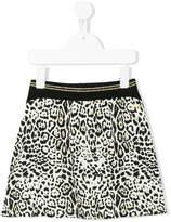 Roberto Cavalli leopard print mini skirt