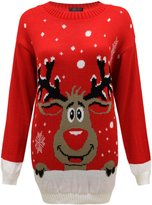 Envy Boutique Mens Unisex Knit Xmas Christmas Jumper Santa Rudolf Reindeer Sweater XXL