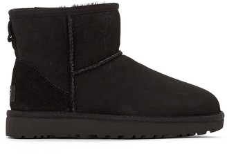 UGG Classic Mini II Fur-Lined Ankle Boots