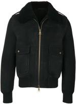 Ami Paris shearling bomber jacket