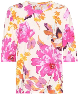 Dries Van Noten Floral cotton T-shirt
