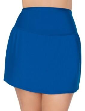Thumbnail for your product : Raisins Curve Trendy Plus Size Solids Bravo Swim Skirt Women's Swimsuit