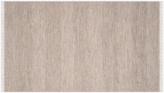 One Kings Lane Xara Runner - Ivory/Steel Gray - 6'x9'