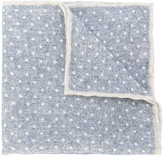 Eleventy polka dot pocket square - men - Wool - One Size