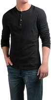 Slate & Stone Riley Henley Shirt - Cotton-Cashmere, Long Sleeve (For Men)