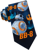 Star Wars BB-8 Blue Print Tie