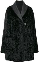 Fur Effect Boxy Coat