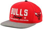 adidas Chicago Bulls Chain Star Snapback Cap