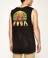 RVCA RTT Muscle T-shirt Black Acid