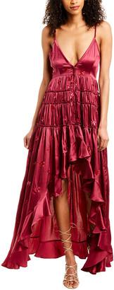 Rococo Sand Nana Silk Maxi Dress
