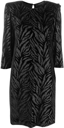 FEDERICA TOSI Rhinestone-Embellished Midi Dress