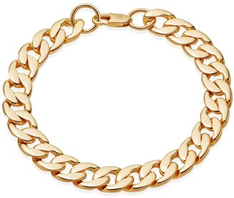 Missoma Men's Gold Chunky Curb Chain Bracelet
