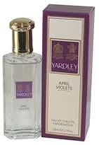 Yardley London Of London April Violets for Women Eau de Toilette Spray, 1.7 Ounce