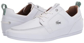Lacoste Marina 120 1 US (White/White) Men's Shoes