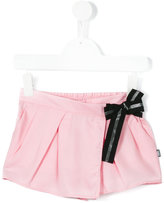 Karl Lagerfeld wrap front shorts - kids - Lyocell - 4 yrs