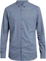A.P.C. Marlon checked cotton-flannel shirt
