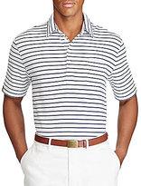 Polo Ralph Lauren Stripe Lisle Short-Sleeve Polo Shirt