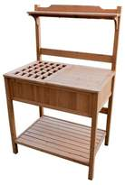 Elizabeth Arden Potting Bench With Recessed Storage - Natural - Merry Products