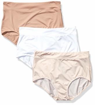 Olga Women's No Pinching No Problems 3 Pack Micro Brief Tailored Panties