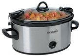 Crock Pot Crock-Pot SCCPVL600S Cook 'N Carry 6 Quart Oval Manual Portable Slow Cooker, Stainless