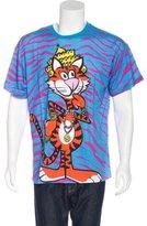 Moschino Cheeta Print T-Shirt w/ Tags