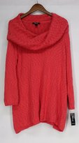 Style&Co. Style & Co. Womens Plus Knit Cowl Neck Pullover Sweater