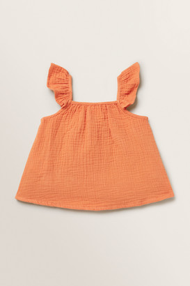 Seed Heritage Cheesecloth Top