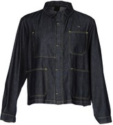 (+) People + PEOPLE Denim outerwear - Item 42611855