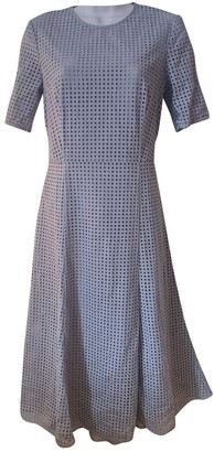 Hobbs Blue Cotton Dress for Women