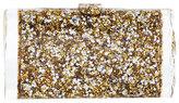 Edie Parker Lara Backlit Acrylic Clutch Bag, Gold/Silver