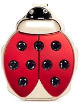 Charlotte Olympia 'Ladybird' crystal embellished metal clutch